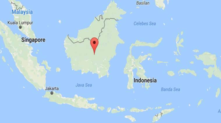 boat fire, indonesia boat fire, indonesia fire, indonesia news, indian express news