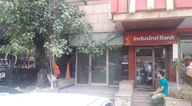 IndusInd Bank, IndusInd Bank shares, Bharat Financial Inclusion, Bharat Financial Inclusion shares, stock, indian express, business news