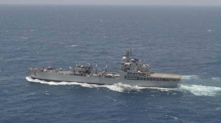 Indian Navy despatches INS Gharial to join relief operations in Cyclone Mora-hit Bangladesh