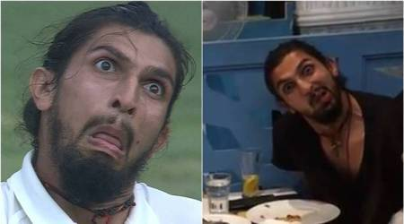 Ishant Sharma trends for another weird face, see pic
