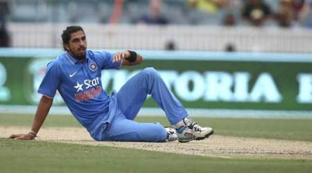 Ishant Sharma, Ishant, Ishant Sharma India, Ishant Sharma stats, Ishant Sharma bowling, India cricket team, India Champions Trophy squad, Champions Trophy, ICC Champions Trophy 2017, Cricket news, Cricket, Sports news, Sports, Indian Express