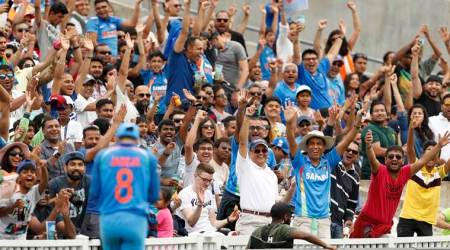 Indian cricket team fan following: Wherever they fly, the flag follows