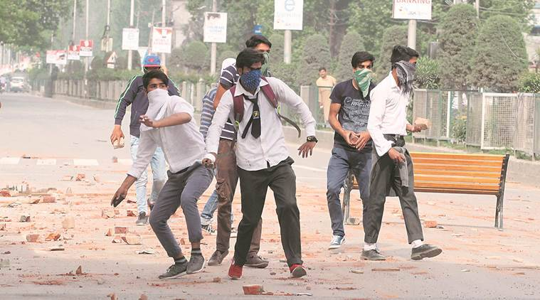 Jammu, Jammu violence, Pulwama protests, Pulwama violence, Kashmir unrest, Kashmir violence, Student protests Srinagar, India news, Indian Express