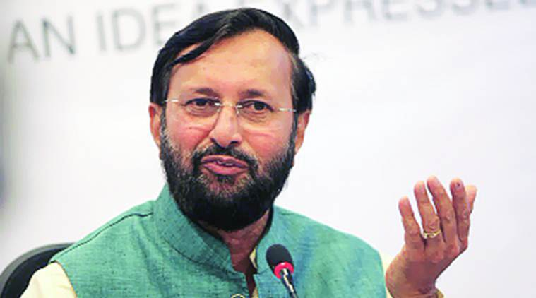 prakash javadekar, union hrd minister, union minister, bjp minister, bjp mp, bjp leader, bjp, union cabinet, cabinet minister, india news, indian express news