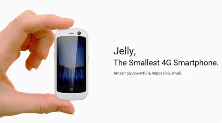 Jelly, Unihertz Jelly, Jelly smartphone, World's smallest smartphone, Jelly Kickstarter, Jelly Unihertz smartphone, Jelly Smartphone feature, Jelly phone, Jelly phone price, technology, technology news