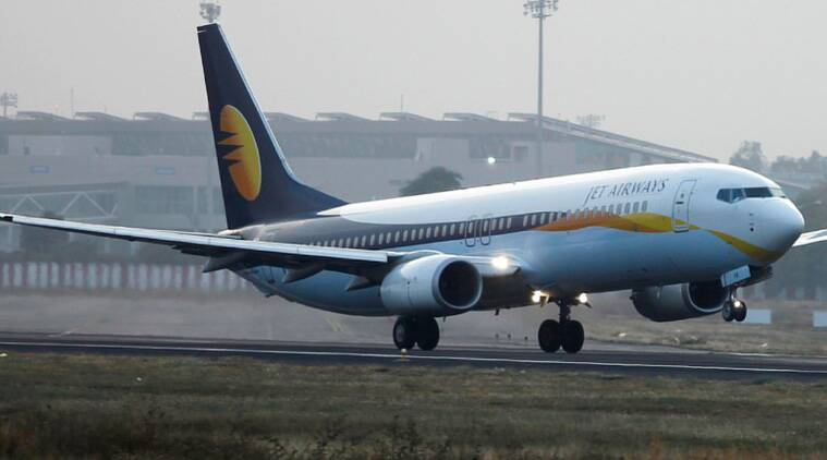 jet airways, jet airways security threat, jet airways diverted, mumbai airport, mumbai-delhi flight, ahmedabad airport, jet airways flight diverted, jet airways delhi flight, india news, indian express news