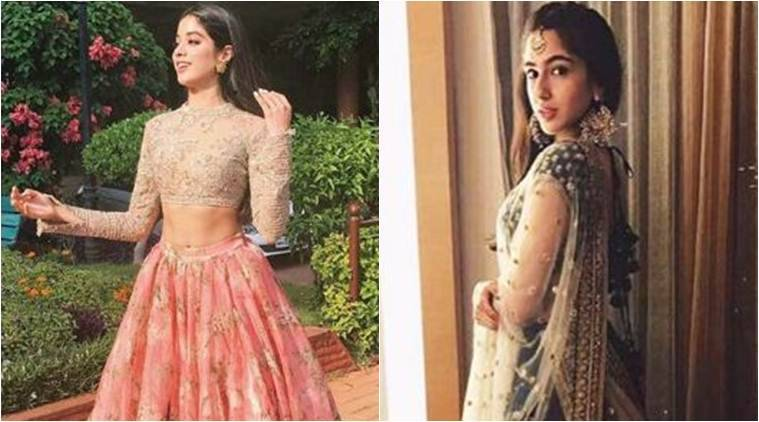 Sridevi's daughter, Jhanvi, looks like an Indian princess in this dress