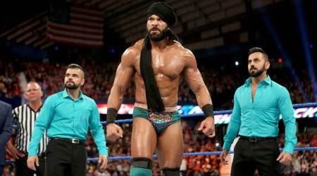 wwe, wwe india, wwe india tour, wwe tour tickets, wwe delhi, wwe india channel, wwe india tour dates, jinder mahal, wwe news, sports news, indian express