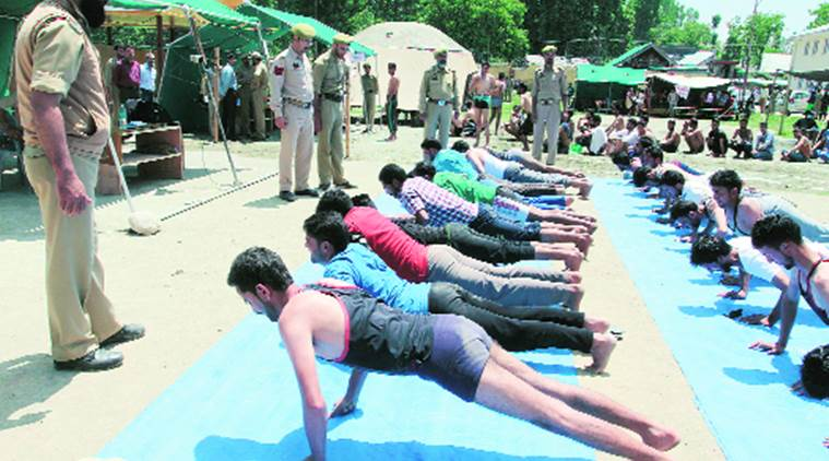 A day in the life of police recruitment drive in Pulwama, J&K