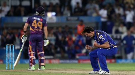 IPL final, IPL final scores, Rohit Sharma, Rohit Sharma Mumbai Indians, Jasprit Bumrah, Mitchell Johnson, Steve Smith, Daniel Christian, Washington Sundar, MS Dhoni, Rising Pune Supergiant, MI vs RPS, sports news, sports, cricket news, Cricket, Indian Express