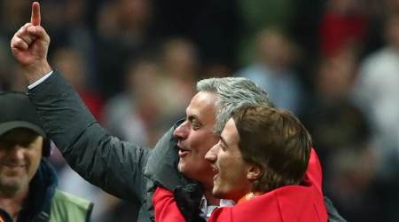 Jose Mourinho explains 'finger raising' celebration after winning Europa League final