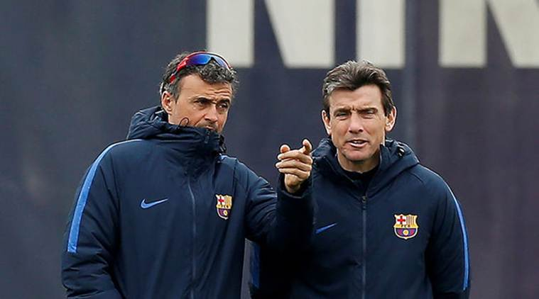 Celta hires Barcelona assistant Unzue as manager