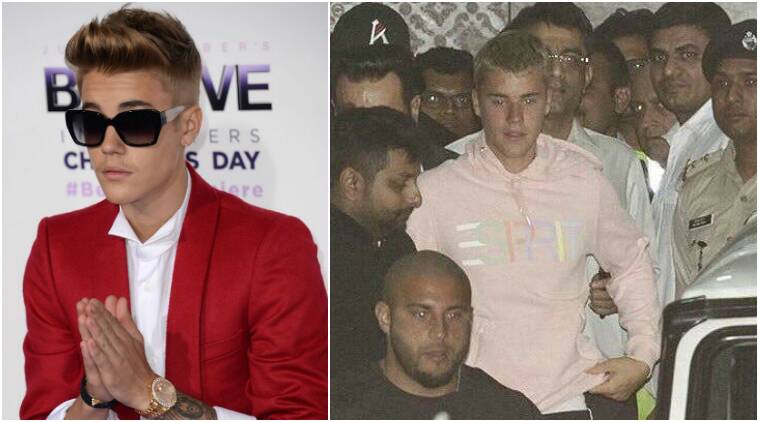 Many Bollywood stars show up to Justin Bieber's performance in India!