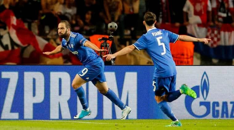 Image result for gonzalo higuain goal v Monaco