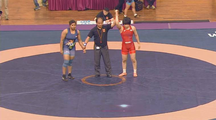 wrestling, wrestling india, india wrestling, wrestling news, asian wrestling champions, senior asian wrestling champions, asian wrestling champions 2017, wrestling news, sports news, indian express