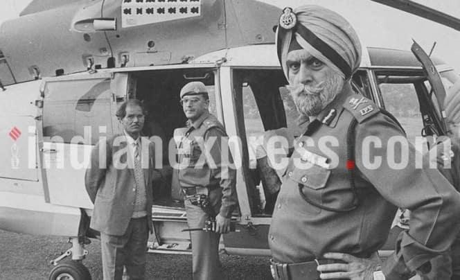 kps gill, kps gill dead, kps gill policeman dead, punjab dgp kps gill passes away, kps gill obituary indian express
