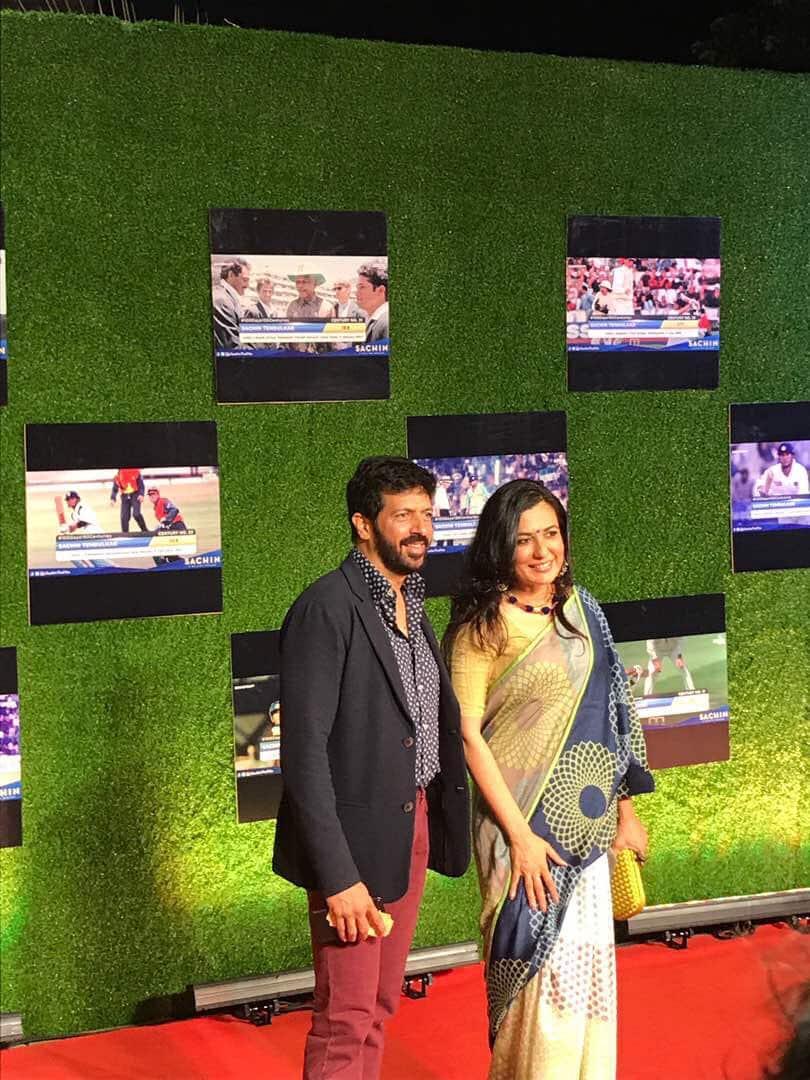 Kabir Khan, Kabir Khan Sachin biopic, kabir khan sachin biopic premiere pics,