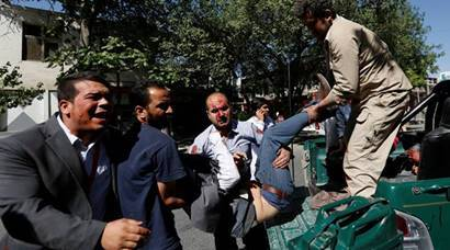 Photos | Several feared dead after massive explosion near Indian Embassy in Kabul