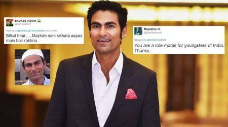 Mohammad Kaif gave some 'gyaan' on religion, and Twitterati couldn't agreemore