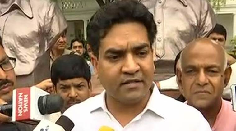 Kapil Mishra, Delhi Assembly, Arvind Kejriwal, Arvind Kejriwal scams, aam aadmi party, aap, Kapil Mishra Delhi Assembly, delhi news, india news