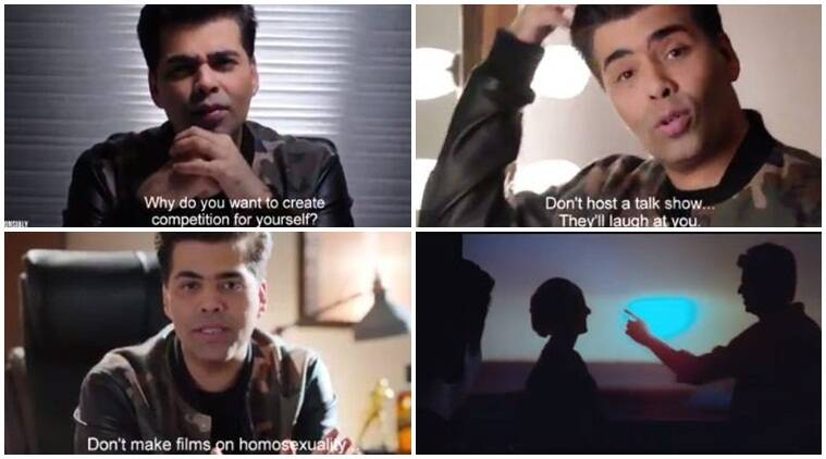 Karan johar, johnie walker, karan johar johnie walker, karan johar johnie walker ad
