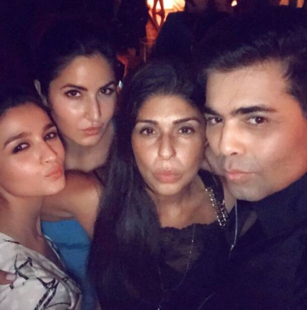 karan johar birthday party, karan johar birthday pics, karan johar party, karan johar turns 45, karan johar bday party
