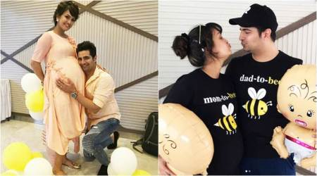 Before Karan Mehra and Nisha Rawal welcome their first baby, these baby shower pics are exactly what the fans wanted to see