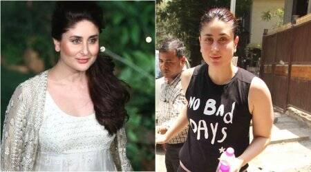 kareena kapoor, kareena kapoor khan, kareena kapoor weight loss, kareena kapoor post pregnancy weight loss, kareena kapoor fitness after pregnancy, kareena kapoor exrecises to lose weight, kareena kapoor latest pictures, indian express, indian express news