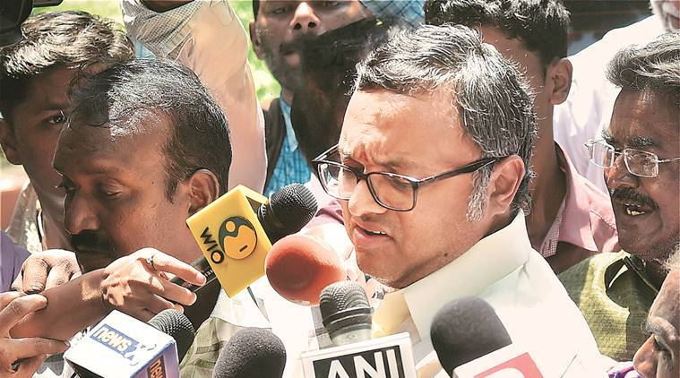 Karti Chidambaram, INX media, ed, Enforcement Directorate, money laundering, karti money laundering, PMLA, PMLA case, indiane express news, india news
