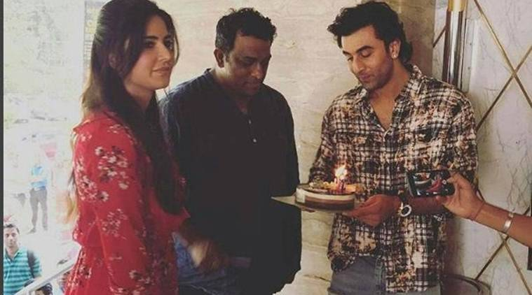 Ranbir Kapoor and Katrina Kaif unite to celebrate Anurag Basu's birthday