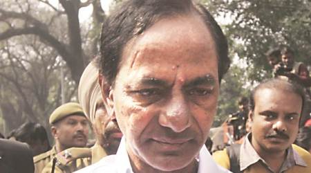 Telangana CM K Chandrasekhar Rao casts vote in presidential election