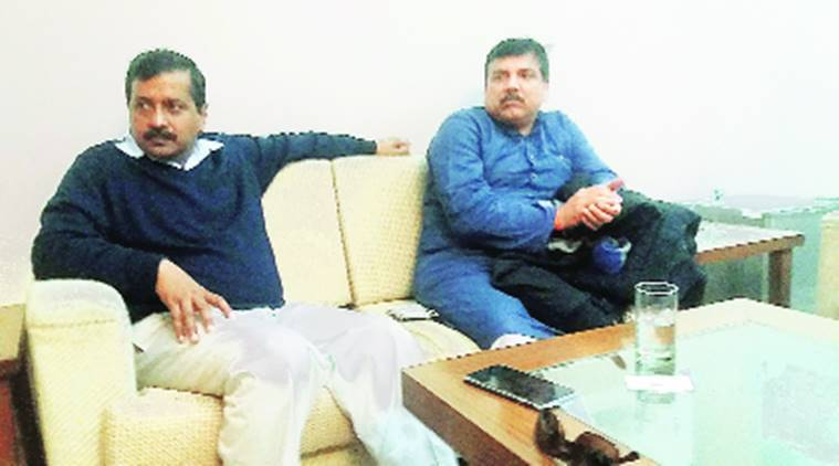 Arvind Kejriwal, Sanjay Singh, Kapil Mishra, sanjay singh foreign tour, kapil mishra hunger strike, Indian Express, India news