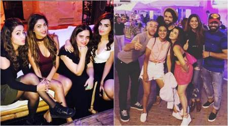 Khatron Ke Khiladi 8: Hina Khan, Nia Sharma, Lopamudra Raut are having a gala time in Spain. See photos, videos