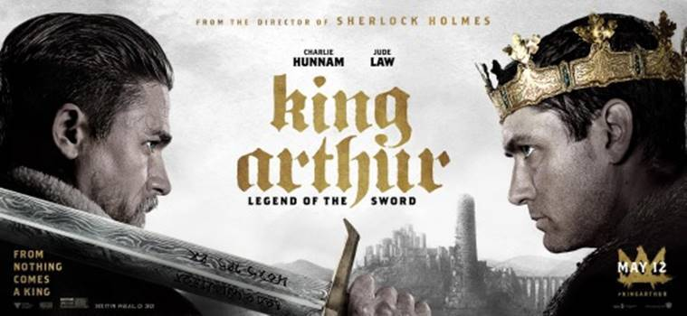 guy ritchie, king arthur, legend of the sword, film-craft, philosophy, jude law, charlie hunnam, paulo coelho, deepak chopra, the revenant, vfx, bollywood filmmakers, british king, hollywood flick, epic, ancient history, box-office, fantasy, drama, fiction, historical facts, mythology, star cast, aidden gillen, hollywood news, indian express news