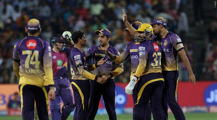 kkr vs srh, kolkata knight riders, sunrisers hyderabad, kolkata vs hyderabad, ipl elminator, gautam gambhir, david warner, ipl 2017, m chinnaswamy stadium, cricket news, cricket, sports news, indian express
