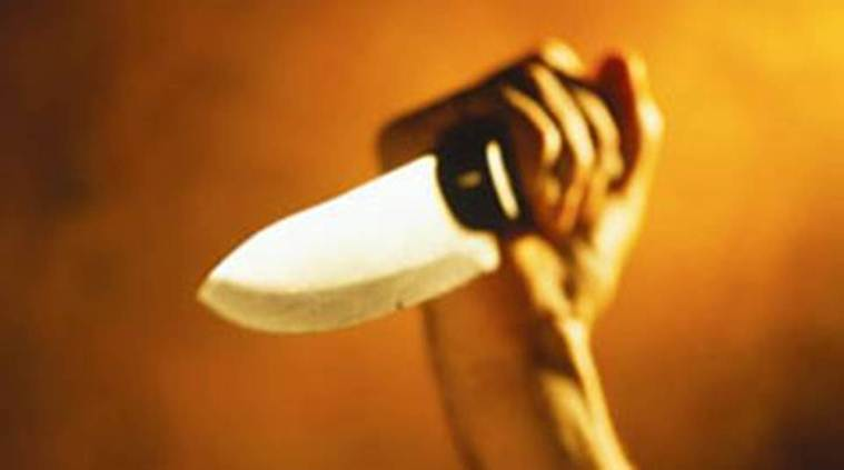 Maharashtra Police, Maharashtra Knife Attack, Thane Knife Attack, Thane Police Injured, Thane Stabbing, Thane Auto Passenger Booked, Thane Auto Passenger Arrested, India News, Indian Express, Indian Express News