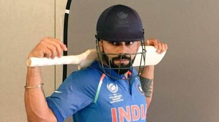Virat Kohli and Indian team participate in photo shoot for ICC Champions Trophy 2017