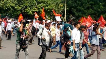 Kolkata violence, kolkata protest, kolkata clashes, indian express, indian news