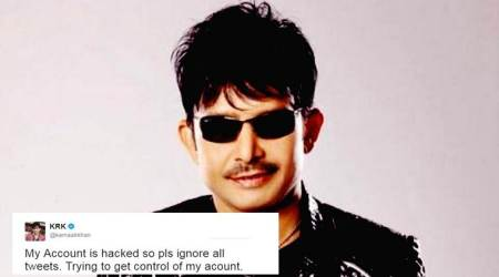 KRK claims twitter account hacked after string of abusive posts; are Salman Khan fans to blame?