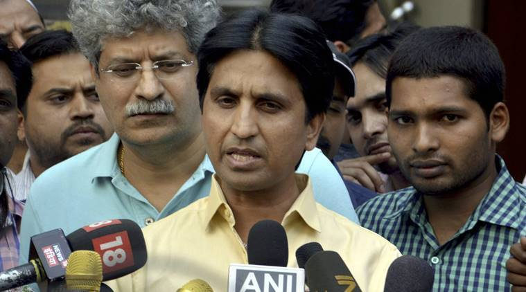 kumar vishwas, kapil sharma show, aam aadmi party, kumar vishwas comment, women comment, indian express news, india news