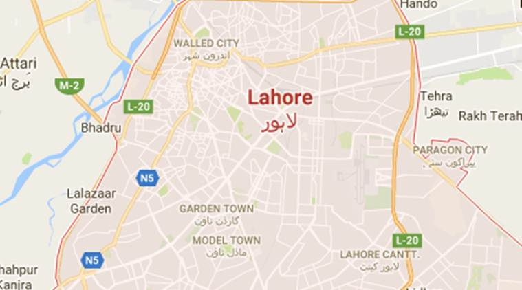 Lahore World Map.Schoolgirl Pushed Down From Building By Teachers In Pakistan World