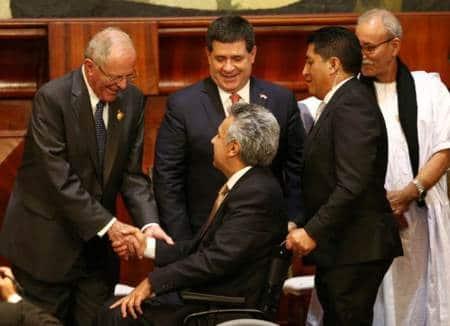 Socialist Lenin Moreno sworn in as Ecuadorpresident