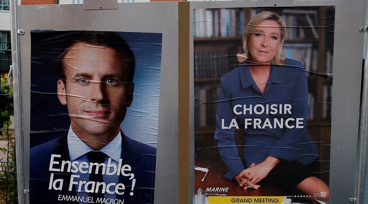 France divided, France elections, France presidential elections, marine le pen emmanuel macron, elections in france, far right in Europe, European politics, indian express news, france news, may 7 france, macron le pen