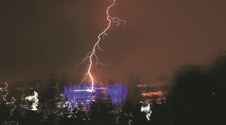 thane rainfall , navi mumbai rainfall, mumbai rains, mumbai rain, thane rain, thane weather, thane news, india news, indian express news