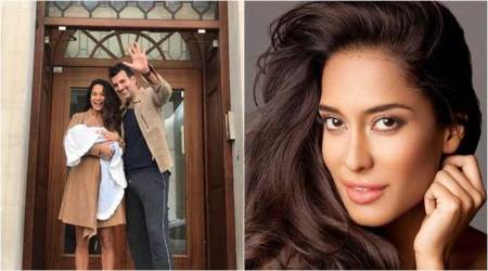 Lisa Haydon blessed with baby boy, names him Zack. Their photo together is just adorbs