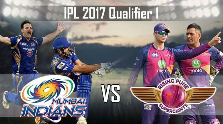 IPL Live Score, Mumbai Indians vs Rising Pune Supergiant, Qualifier 1: Mumbai in deep trouble against Pune at Wankhede