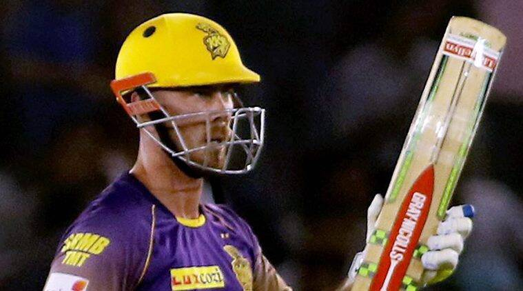 Chris Lynn, Lynn, David Warner. Champions Trophy, Kolkata Knight Riders, Kings XI Punjab, IPL 10, IPL 2017, Indian Premier League, cricket, sports news, Indian Express