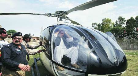 Pakistan Punjab Govt raises questions over Imran Khan's chopper use