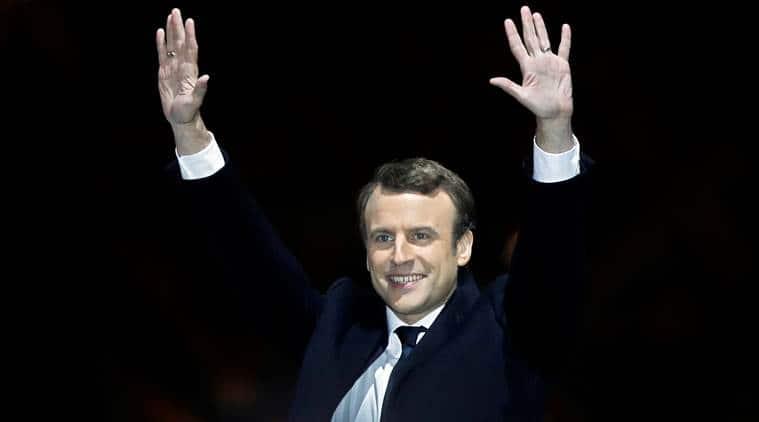 emmanuel macron, france elections, france president, french president, olympics, france olympics, 2024 olympics, sports news, indian express