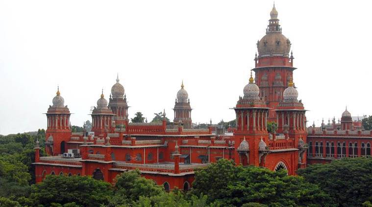 madras high court, traffic jam, chennai traffic, vehicles of dignitaries, vip convoys, indian express